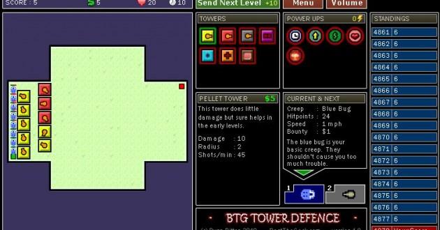 BTG Tower Defense Screenshot