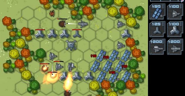 Aliens Defense Screenshot