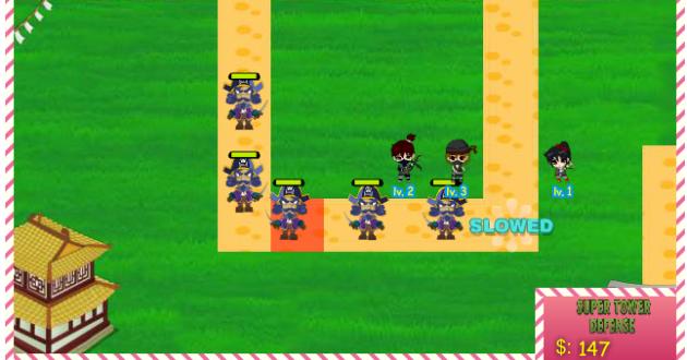 Ninjas vs Pirats TD 3 Screenshot