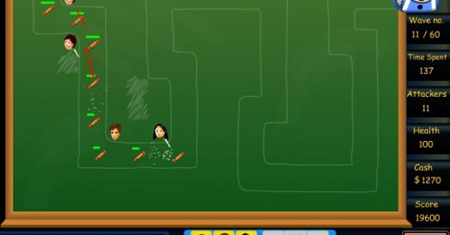Homework Tower Defense Screenshot