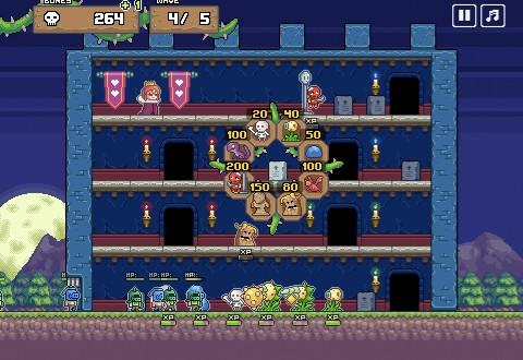 Monster Castle XP Screenshot