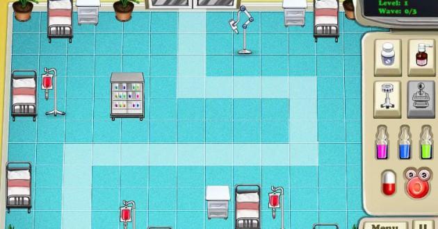 Virus Defence of Hospital Screenshot