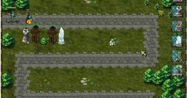 Zaptonia Defense Tower Screenshot