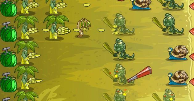 Fruit Defense Express Screenshot