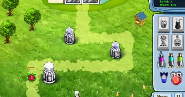 Defense of World UFO Screenshot